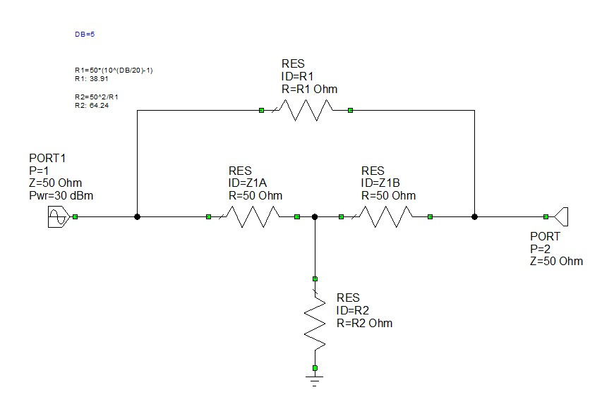 Microwaves101 | Attenuator Dissipation