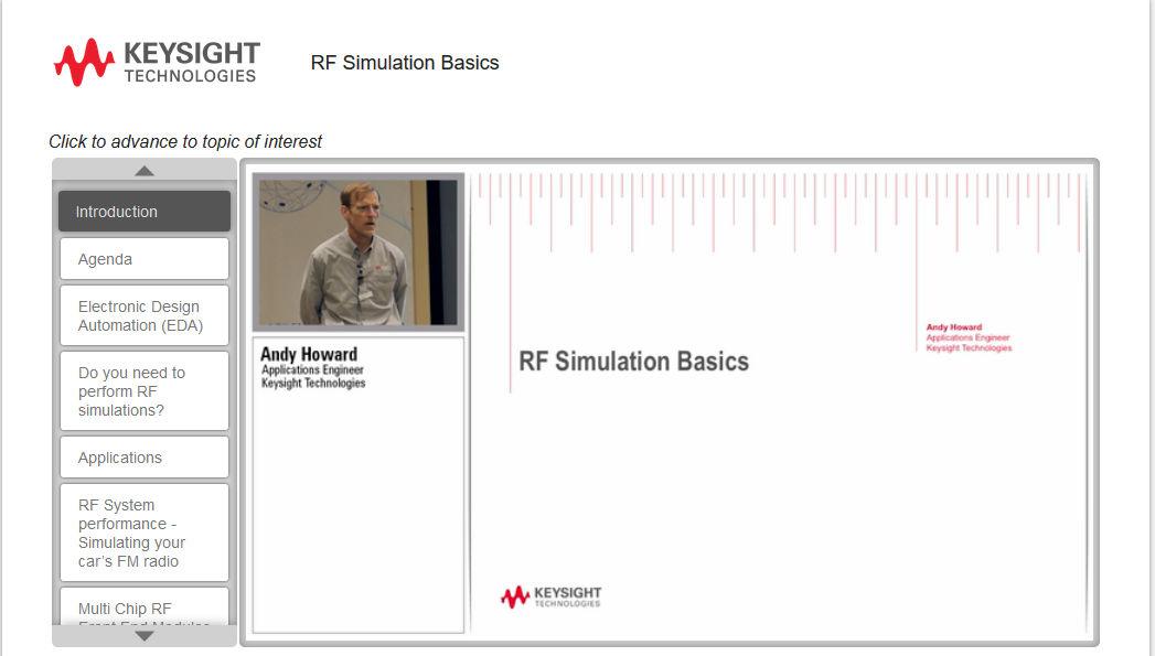 RFSimulationBasics Webinar