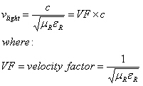 Light, Phase and Group Velocities