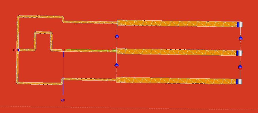 Three-Way Planar Wilkinsons